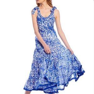 Free People Kikas maxi dress, size large